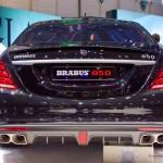 Phát hoảng tiếng pô của siêu xe Mercedes S63 AMG BRABUS