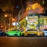 Ngắm dàn siêu xe của Minh nhựa khoe tiếng pô trên phố