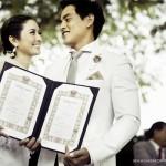 Top chân dài Thái Lan gặp may lấy chồng siêu giàu