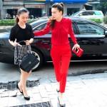 Choáng dàn xe siêu sang làm nổi tiếng Hồ Ngọc Hà