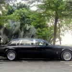 Ngắm xe siêu sang Rolls royce Phantom EWB độ vành kiểu cổ điển