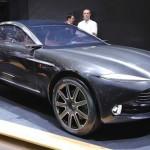 Ngắm siêu xe Aston Martin DBX tương lai tại triển lãm