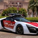 Siêu xe khủng nhất thế giới của cảnh sát Abu Dhabi