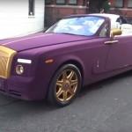 Xe siêu sang Rolls royce như vải lụa trên phố