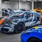 Hàng chục siêu xe của đại gia Ả Rập đi du lịch phương tây