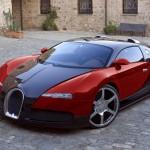 Dùng siêu xe bugatti veyron đi tán gái xinh