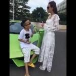 Siêu xe Lamborghini đi thuê của đại gia Trần Sơn