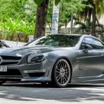 Xe khủng Mercedes SL độ cực độc tại Sài Gòn