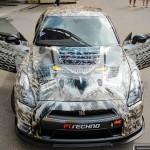 Siêu xe Nissan GT-R độ màu cực độc