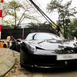 Dàn siêu xe khoe dáng giữa phố ở Hà Nội