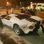 Siêu xe Ford GT siêu hiếm tai nạn hư hỏng nặng