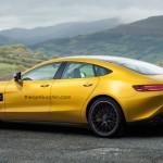 """Ảnh """"tưởng tượng"""" về siêu xe Mercedes-AMG GT sedan"""