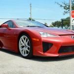 Đại gia rao bán siêu xe Lexus LFA màu đỏ