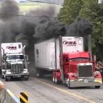 Hết đua xe tải lại đua xe container