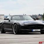 Siêu xe Mercedes SLS AMG mui trần nâng cấp bởi VATH