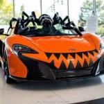 Siêu xe McLaren 650S hóa trang thành quái vật nhện