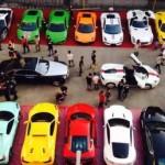 Choáng dàn siêu xe cực khủng của đại gia Đài Loan