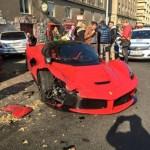 Siêu xe Ferrari LaFerrari bị tai nạn nặng tại Hungary