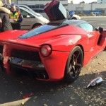 3 siêu xe khủng bị tai nạn liền lúc