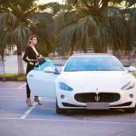 Video ngắm chân dài đồ lót thành đại sứ siêu xe Maserati