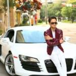 Chàng trai giống hệt Tuấn Hưng khoe siêu xe Audi R8