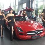 Siêu xe khủng Mercedes SLS AMG được đại gia Bình Định mua