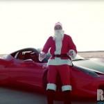 Ông già Noel lái siêu xe Ferrari 458 italia khủng