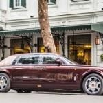 Xe siêu sang Rolls-Royce Phantom Lửa Thiêng ở Hà Nội