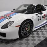 Đại gia độ siêu xe Porsche 918 Spyder nhiều màu