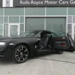 Ngắm xe siêu sang Rolls-Royce Wraith đen mờ độc nhất