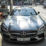 Ngắm siêu xe Mercedes AMG GT S Edition 1 dạo chơi trên phố Sài Gòn