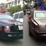 Rolls royce Phantom rồng rước dâu ở Hà Nội gây chú ý