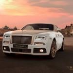 Mansory chịu chơi độ vàng siêu xe Rolls-Royce Wraith