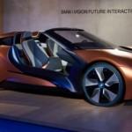 Siêu xe BMW i Vision bản mui trần của BMW i8