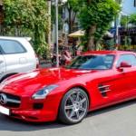 Siêu xe Mercedes SLS chính hãng tại Sài Gòn