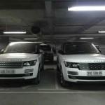 Ngắm cặp đôi xe siêu sang Range rover biển đẹp