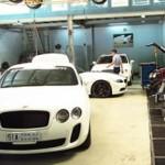 Garage ô tô Thần Châu trước khi bị cháy trông thế nào ?