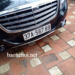 Xe Maybach S600 ở Nghệ An dùng biển đẹp tạm thời ?