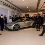 Aston Martin trong phim 007 Spectre không đi được