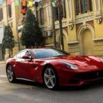 Siêu xe khủng Ferrari F12 Berlinetta đã lăn bánh ở Hải Phòng