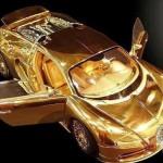 Siêu xe mô hình dát vàng kim cương Bugatti giá 70 tỷ