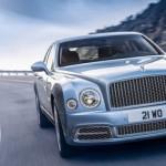 Xe siêu sang Bentley Mulsanne 2017 nhiều nâng cấp