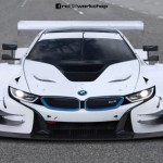 Siêu xe BMW i8 được độ thành siêu xe đua