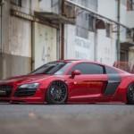 Ngắm siêu xe Audi R8 độ độc bởi hãng widebody Liberty Walk