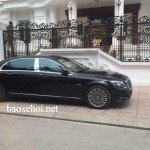 Ngắm chi tiết Maybach S600 của đại gia Ninh Bình