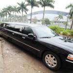 Á hậu Ngô Trà My tự hào được chồng đón dâu bằng xe Limousine