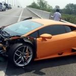Đại gia Sài Gòn nào bị tai nạn siêu xe Lamborghini Huracan ?