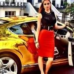 Con nhà giàu Nga đua nhau khoe siêu xe trên Facebook