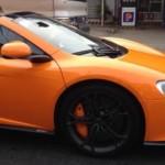 Siêu xe McLaren 650S của đại gia Minh nhựa gây chú ý