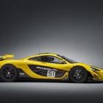 Siêu xe McLaren P1 GTR suýt tai nạn vì cua hỏng